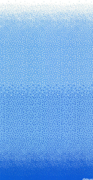 FREE SPIRIT - JANE SASSAMAN COOL BREEZE OVER THE TOP DOTS - Blue