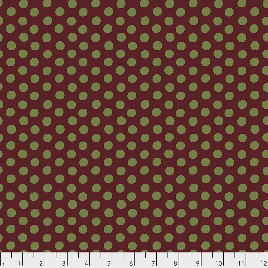 Kaffe Fassett Collective Spot BURGUNDY PWGP070 - Aug 2020.Priced per 25cm