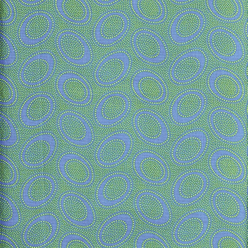 Kaffe Fassett Collective Aboriginal Dot Ocean PWGP071.Priced per 25cm