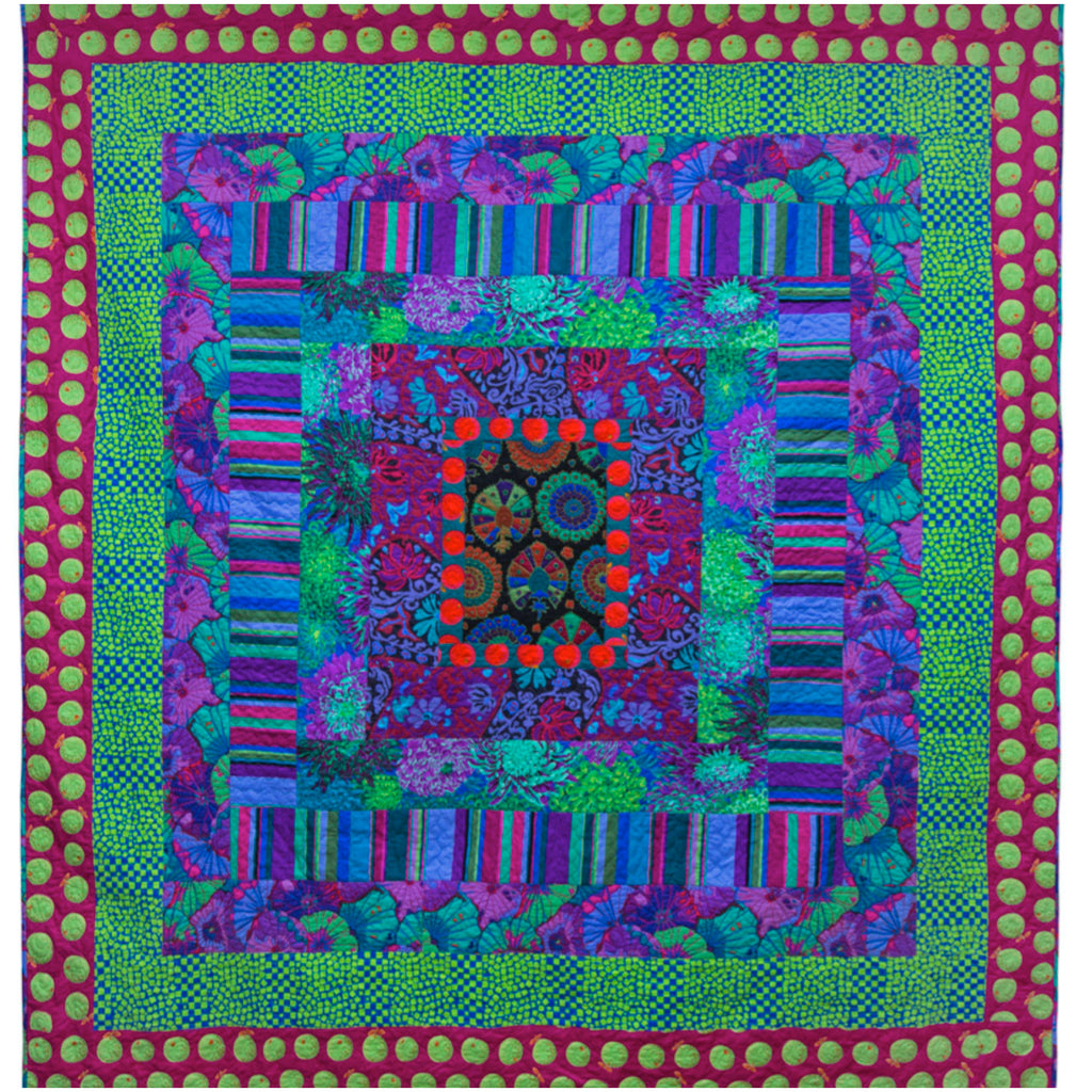 **Green with Envy Quilt Kit - Quilts in Burano (Kaffe Fassett)
