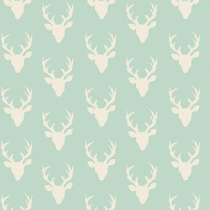 Art Gallery - Tiny Buck Forest Mint HBR-4440-1