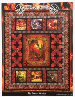 Dragons In The Beginning Quilt  Pattern