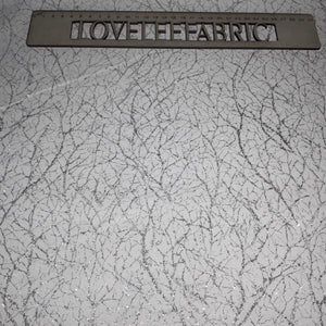 Windham Diamond Dust Metallic Texture SNOW 51394-43 Priced per 25cm.