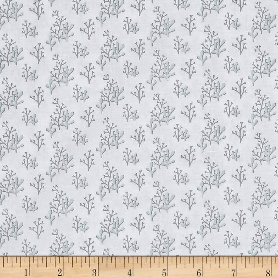 Clothworks - Sail Away Tonal White.Priced per 25cm