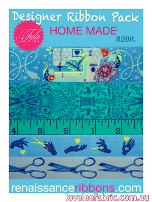 Renaissance Ribbon Pack Home Made by Tula Pink - Noon