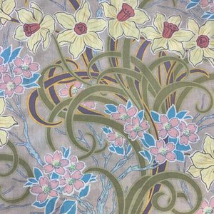 Kaffe Fassett Collective DAFFODILS & DOGWOOD PJ31.Priced per 25cm