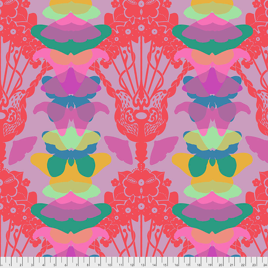 *Pre Order Hindsight - Ghost Nouveau - Lilac by Anna Maria Horner PWAH142.Priced per 25cm
