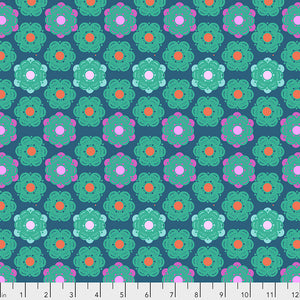 Hindsight - Honeycomb - Denim by Anna Maria Horner PWAH143.Priced per 25cm