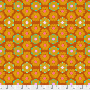 Hindsight - Honeycomb - Sunset by Anna Maria Horner PWAH143.Priced per 25cm