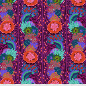 *Pre Order* Bright Eyes - Brimming GRAPE by Anna Maria Horner PWAH152.Priced per 25cm DUE MAY / JUNE