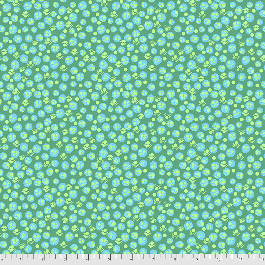 *Pre Order* Bright Eyes - Dot Your Eyes JADE by Anna Maria Horner PWAH156.Priced per 25cm DUE MAY / JUNE