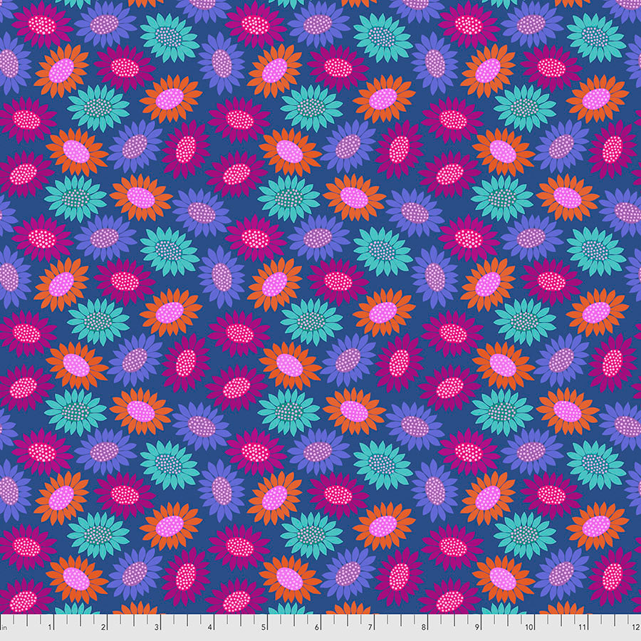 *Pre Order* Bright Eyes - Picky BLUE by Anna Maria Horner PWAH159.Priced per 25cm DUE MAY / JUNE