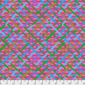 *Pre Order* Kaffe Fassett Collective Mad Plaid Fuchsia PWBM037 - Feb 2020.Priced per 25cm