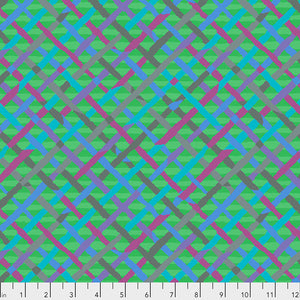 *Pre Order* Kaffe Fassett Collective Mad Plaid Green PWBM037 - Feb 2020.Priced per 25cm