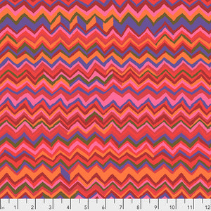 Kaffe Fassett Collective Zig Zag Holiday  PWBM043.Priced per 25cm