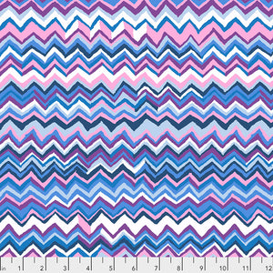 Kaffe Fassett Collective Zig Zag Sky PWBM043 - Feb 2020.Priced per 25cm