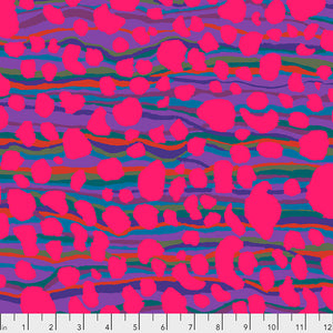 Kaffe Fassett Collective Stream Magenta PWBM075 - Aug 2020.Priced per 25cm