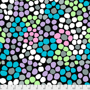 *PRE ORDER* Kaffe Fassett Collective Flower Dot - PWBM077.STONE - Aug 2020.Priced per 25cm