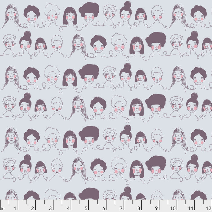 Long Distance by Courtney Cerutti Conservatory Chapter 2 Penpals in GRAY.Priced per 25cm