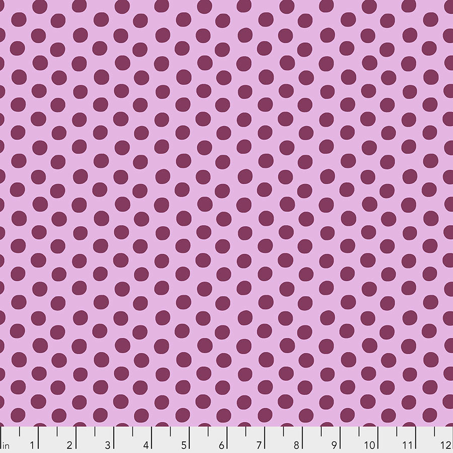 Kaffe Fassett Collective Spot Mauve PWGP070 - Feb 2020.Priced per 25cm