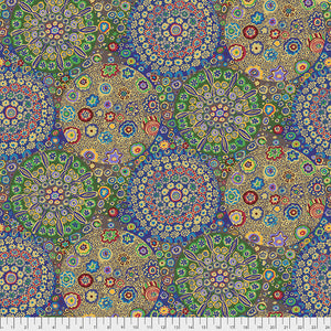 Kaffe Fassett Collective Millefiore Ochre PWGP092 - Aug 2020.Priced per 25cm