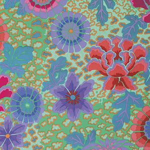 Kaffe Fassett Collective Dream Aqua  PWGP148.Priced per 25cm