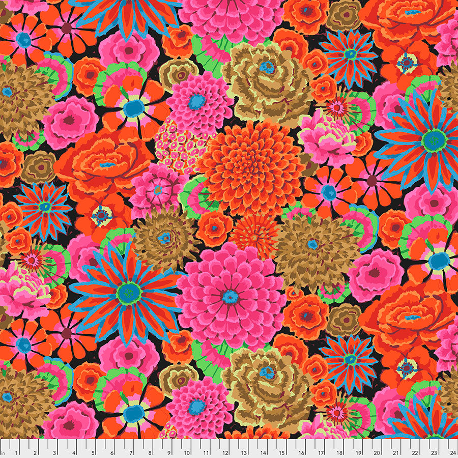 Kaffe Fassett Collective Enchanted Magenta PWGP172 - Aug 2020.Priced per 25cm