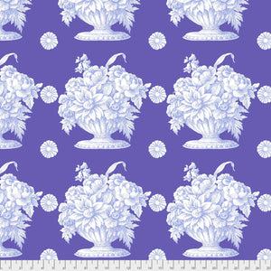 Kaffe Fassett Collective Stone Flower Lavender PWGP173.Priced per 25cm