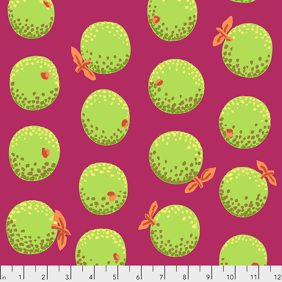 Kaffe Fassett Collective Oranges Lime PWGP177.Priced per 25cm