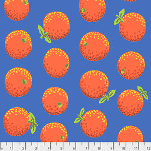 Kaffe Fassett Collective Oranges Orange PWGP177.Priced per 25cm