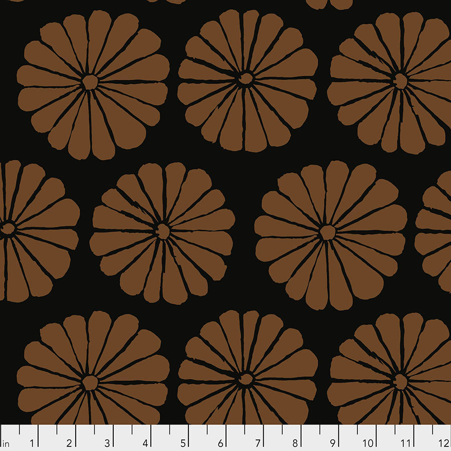*Pre Order* Kaffe Fassett Collective Damask Flower - Brown PWGP183 Feb 2021.Priced per 25cm Due Feb/March 2021