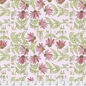 COLOR FUSION by Laura Heine Daisy - Pink PWLH018.PINK.Priced per 25cm