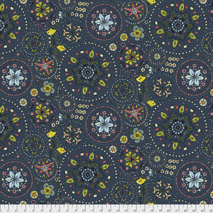 Land Art by Odile Bailloeul Fairy Circles - Navy PWOB019.NAVY.Priced per 25cm