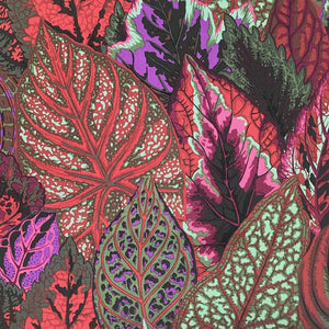 Kaffe Fassett Collective Coleus Dark PWPJ030.Priced per 25cm