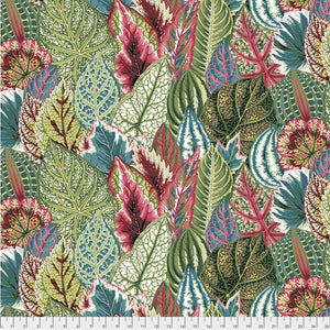 Kaffe Fassett Collective Coleus Green PWPJ030 - Feb 2020.Priced per 25cm