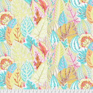 Kaffe Fassett Collective Coleus Grey PWPJ030 - Feb 2020.Priced per 25cm