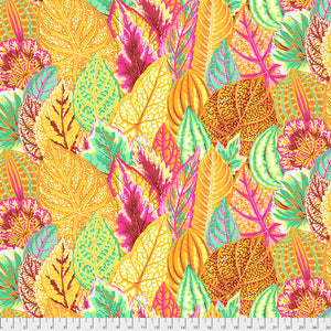Kaffe Fassett Collective Coleus Yellow PWPJ030 - Feb 2020.Priced per 25cm