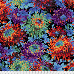 Kaffe Fassett Collective Shaggy Black PWPJ072.Priced per 25cm