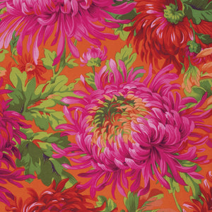 Kaffe Fassett Collective Shaggy Red PWPJ072.Priced per 25cm