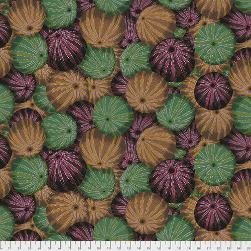 Kaffe Fassett Collective Sea Urchins ANTIQUE PWPJ100.Priced per 25cm