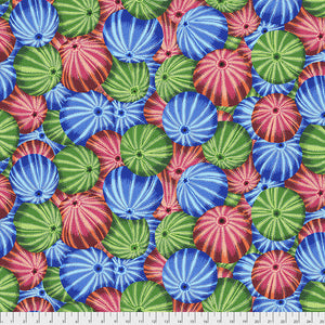 Kaffe Fassett Collective Sea Urchins Multi PWPJ100.Priced per 25cm