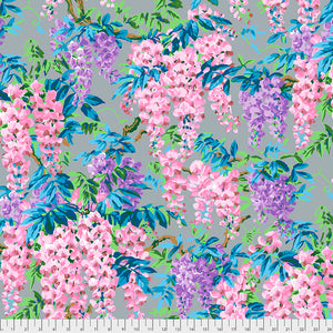 Kaffe Fassett Collective Wisteria Grey PWPJ102 - Aug 2020.Priced per 25cm