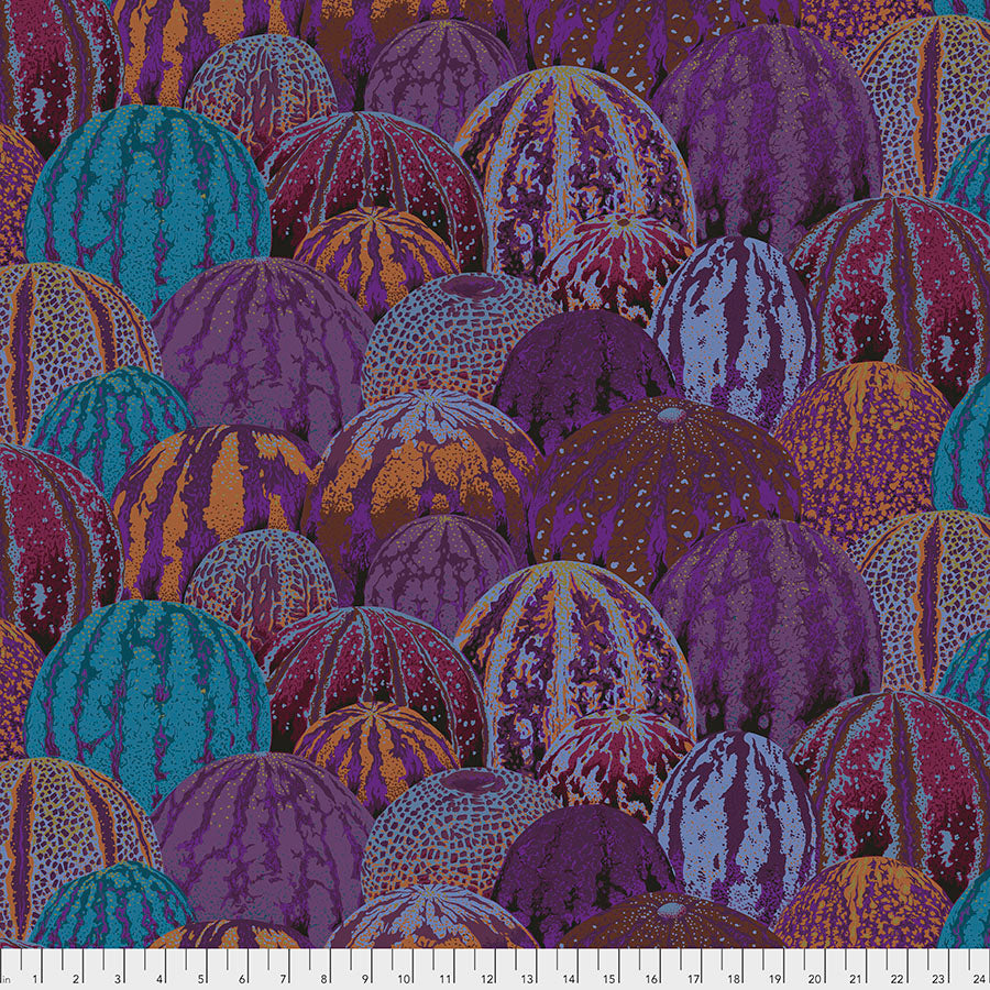 Kaffe Fassett Collective Watermelons Earth PWPJ103 - Aug 2020.Priced per 25cm