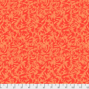 SILK ROAD by Philip Jacobs - Persian Rose in Orange PWSL090.Priced per 25cm
