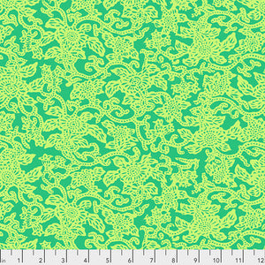 *PRE-ORDER*  SILK ROAD - Kashgar in Green PWSL091.Priced per 25cm-DUE TO ARRIVE LATE JUNE