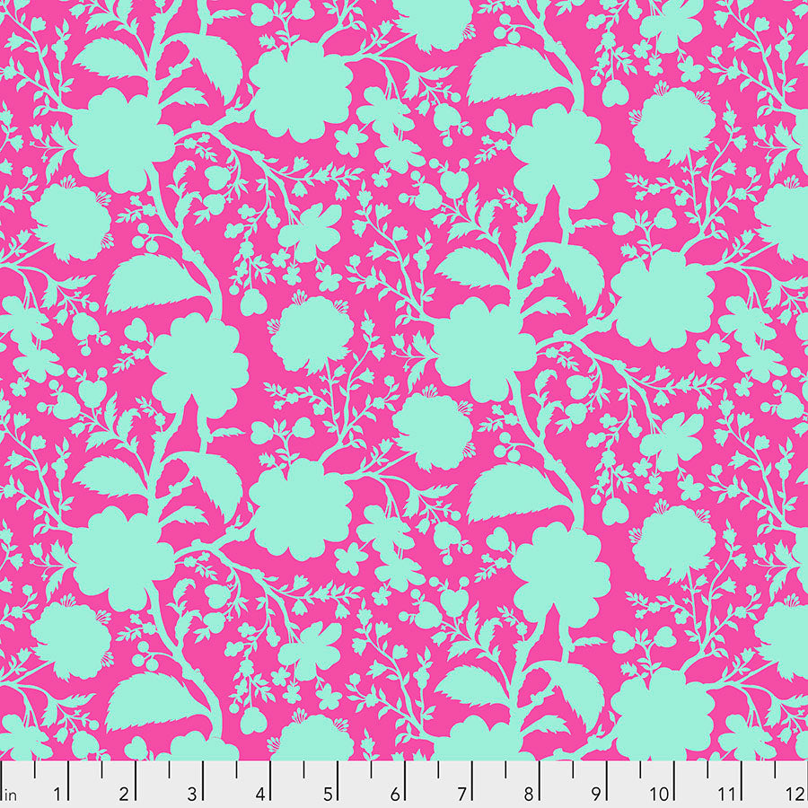 Tula Pink True Colors - Wildflower - Azalea PWTP149 - Priced per 25cm