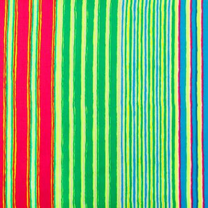 Kaffe Fassett Collective Regimental Stripe Green PWGP163.Priced per 25cm