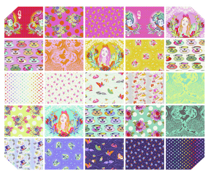 *PRE ORDER* Curiouser & Curiouser - +Bundle - Fat Quarter Bundle - DUE TO ARRIVE JUNE/JULY