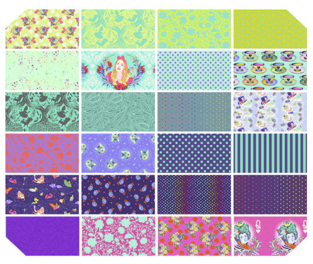 *PRE ORDER* Curiouser & Curiouser - +Bundle - Daydream Fat Quarter - DUE TO ARRIVE JUNE/JULY