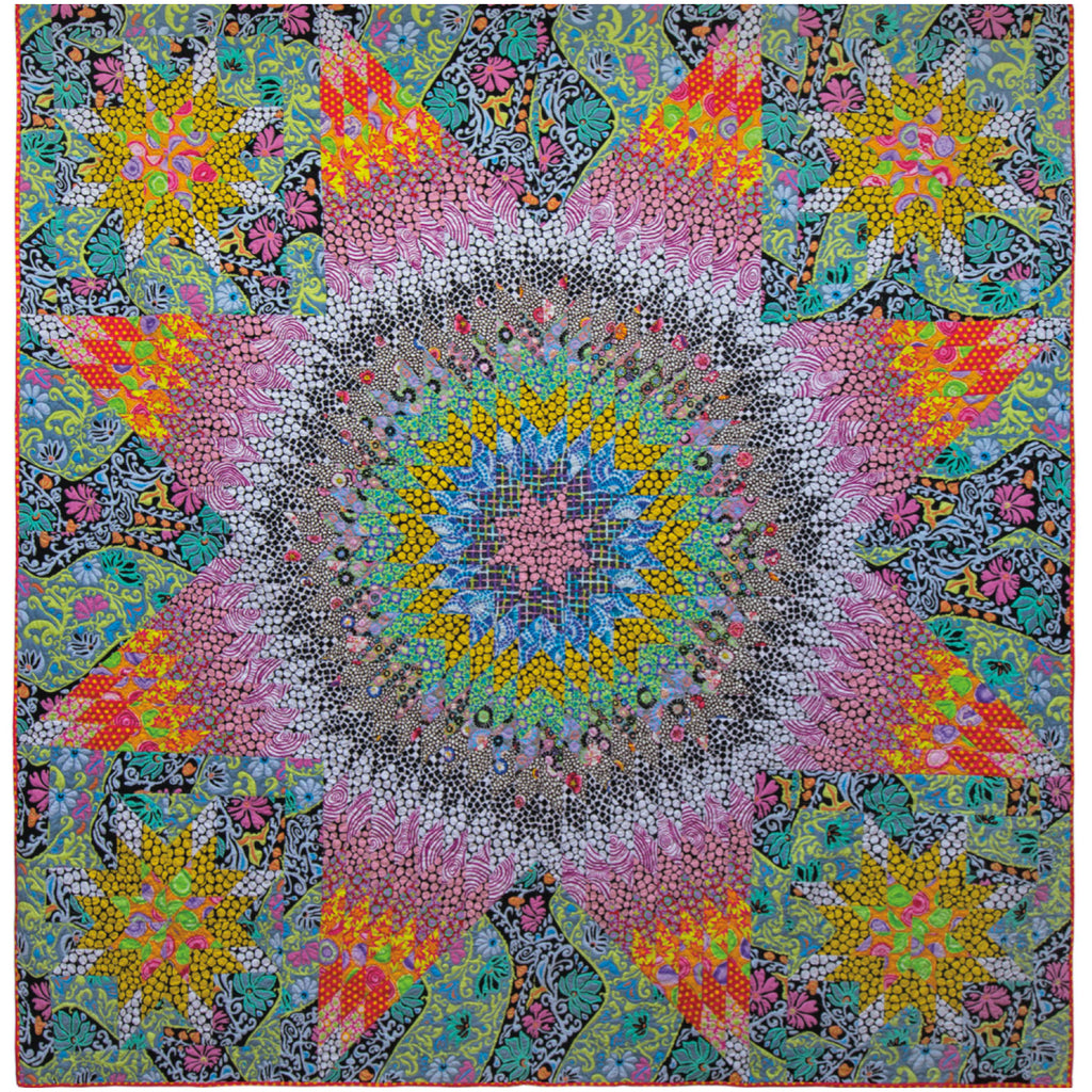 **Shimmer Star Quilt Kit - Quilts in Burano (Kaffe Fassett)